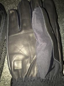 die Handfläche aus Leder