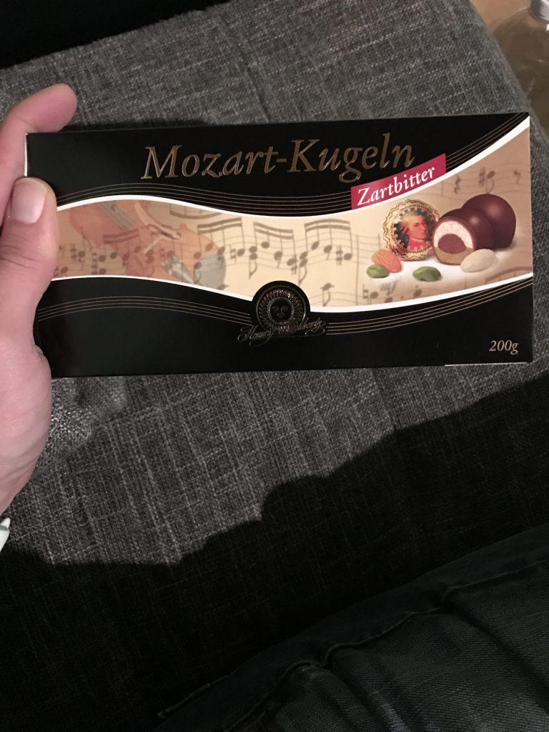 Mozart-Kugeln...