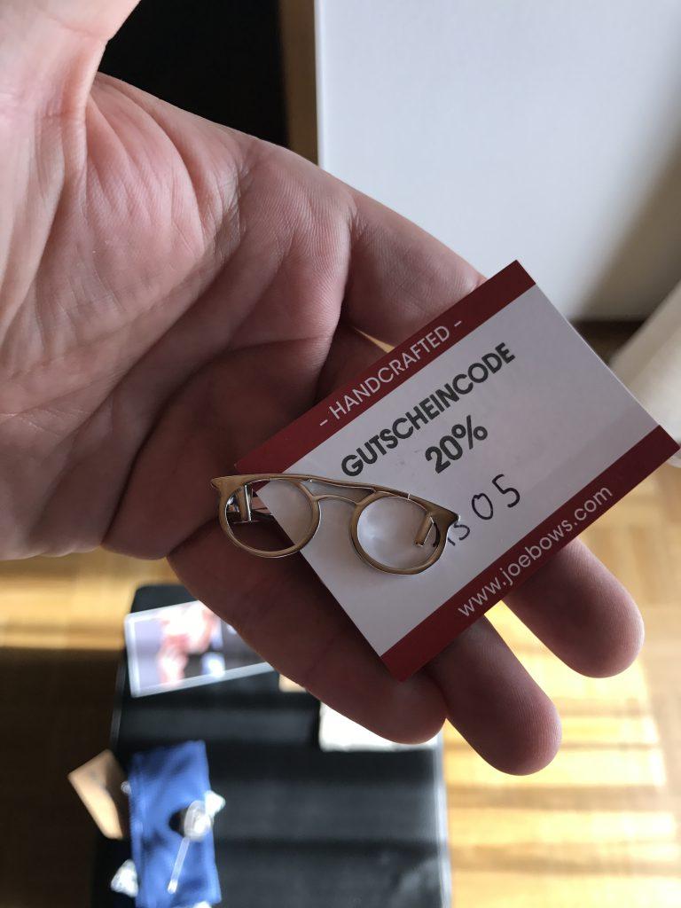 Krawattenklammer (22€)