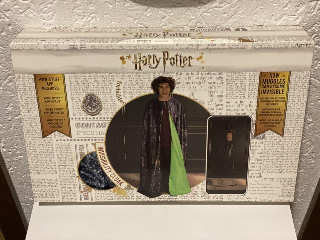 Unsichtbarkeitsumhang aus Harry Potter